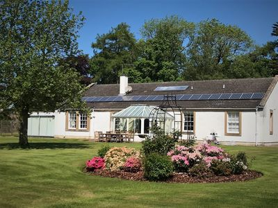 Photo for Garden House in Country Estate near Golf and Coast