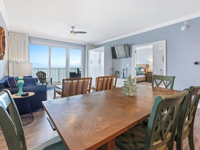 Photo for Beachfront for 8! Pool-12th Fl☀️Inspected & Disinfected☀️Grandview East 1203-3BR
