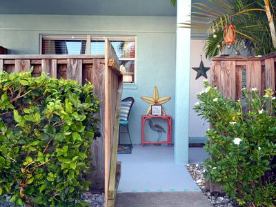 Quiet Retreat w/Private Patio, Steps to the Sand
