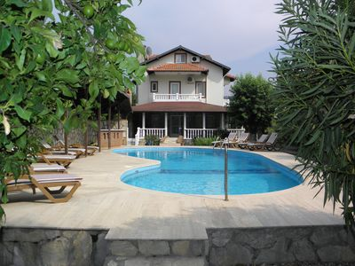 Photo for Beatufiul Villa Close to the Town Centre With Private Gardens and Swimming Pool