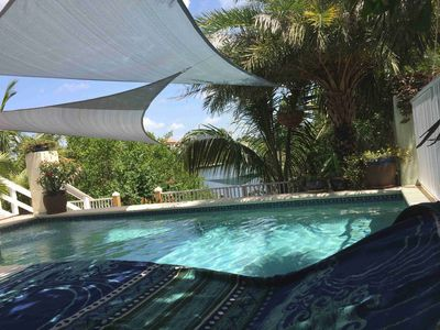 Photo for Waterfront Tampa FL Keys-Style Sail House - Pool, Hot Tub, Floating Dock, Kayaks