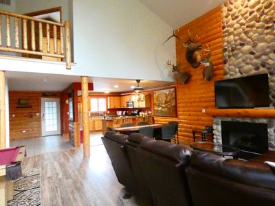 Photo for ANTLER INN CABIN AT STARVED ROCK.... Beautiful Updated 2,800sq ft Luxury Cabin