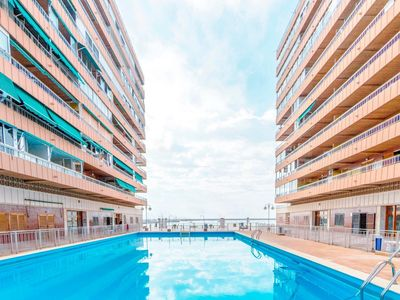 Photo for Beautiful apartment, with direct access to the beach