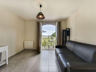 Photo for Nice apartment for 2 guests with TV, balcony and parking