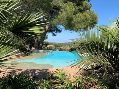 Photo for Beautiful Villa with superb views and private pool in the heart of the Gulf of St Tropez