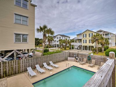 Photo for NEW! North Myrtle Beach Duplex - 100 ft to Ocean!