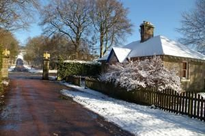 Photo for Eagle Lodge, Gatehouse adjacent to A73, Carmichael Country Cottages.  Pets Welcome