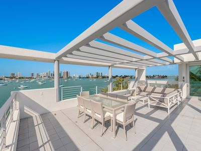 Photo for Miami Beach Luxury Waterfront Ultra Modern Smart Home