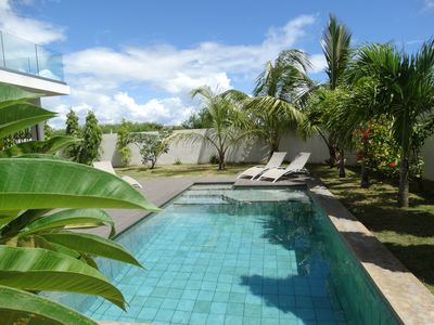 Photo for Villa Soleil, Large new villa close to the lagoon