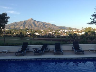 Photo for Large luxury villa with  heated swimming pool & walking distance of Puerto Banus