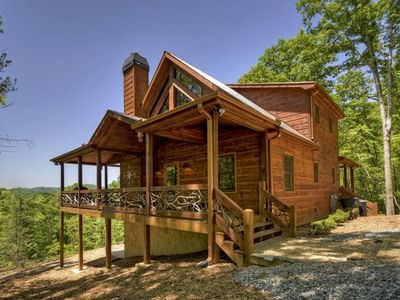 Photo for 4BR Cabin Vacation Rental in Mineral Bluff, Georgia