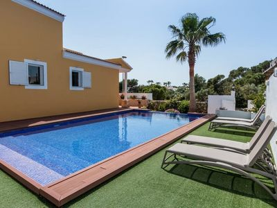 Photo for VILLA WITH POOL FENCED. FREE WIFI. AT 2 MIN. OF THE BEACH AND AT 5 OF THE CITY