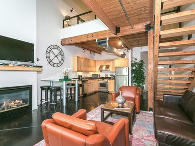 Photo for Brownstone Loft In The Heart Of Orenco Station