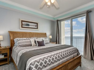 Photo for Fall Discounts, Sunrises, Sunsets & Dolphins! Balcony Views Intracoastal & Gulf!