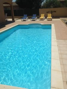 Photo for Comfortable villa with private pool in scenic Trèbes near Carcassonne