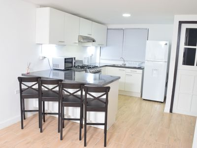 Photo for Fully Renovated Apartment, Full AC in unit, Brand New Kitchen and Safe Location.