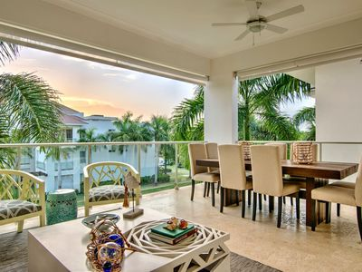 Photo for Private Jacuzzi Condo w 2 Terraces + Airport Transfer at Puntacana Resort
