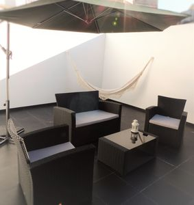 Photo for Cozy and modern space with 30m2 terrace