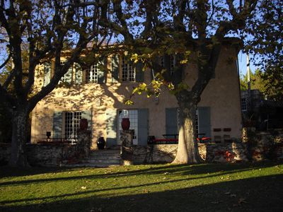 Photo for Provencal country house 4.5 km from Aix-en-Provence with 7 bedrooms