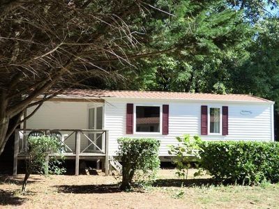 Photo for Camping La Porte d'Autan *** - Mobile Home Ophéa Family 4 Rooms 6 Persons