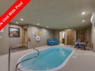 Photo for Marco Polo a 4 bedroom cabin with indoor pool.