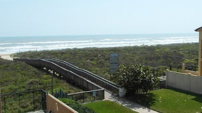 Photo for Gulf front Condo located at beach access