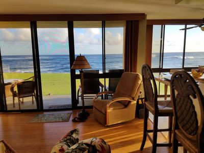 Photo for Best Place to  Stay in Kauai - 35' from the Surf - Poipu, Hawaii