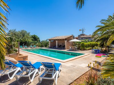 Photo for Idyllic Country Estate with Pool, Garden, Terraces and Wi-Fi; Parking Available, Pets Allowed