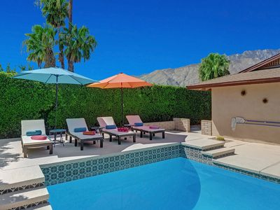 Photo for Quiet Palm Springs Pool Home, Minutes from Downtown