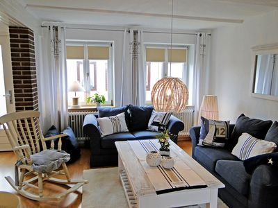 Photo for Cozy cottage with fireplace and Schleiblick in Kappeln, ideal for couples