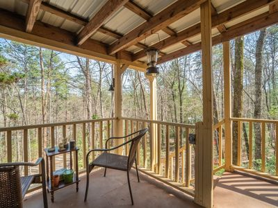Photo for Cabin in the Woods near Unicoi State Park &  Helen, GA.