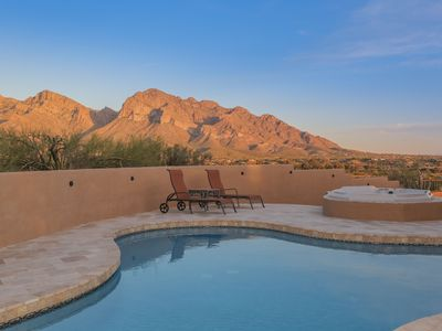Photo for Very Private, Beautiful, Hilltop Home with Panoramic Pusch Ridge Views