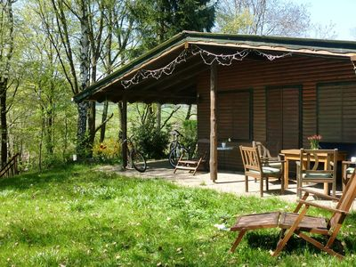 Photo for Dog-friendly holiday home in the Knüll with covered terrace
