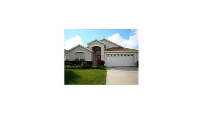 Photo for 5 bed pool/spa family villa close to Disney