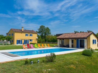 Photo for Beautiful villa with private pool near Rovinj