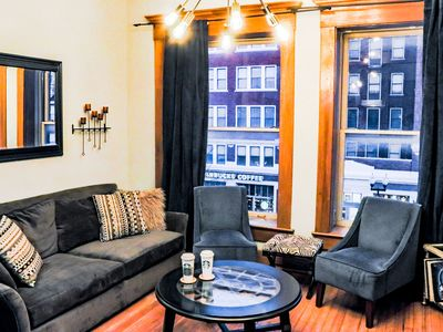 Photo for Condo in the heart of downtown Indy- Mass Ave