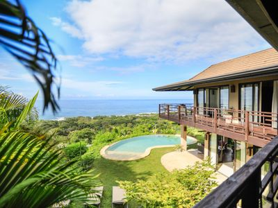 Photo for Stunning Ocean & Jungle View Luxury Villa with 4 bedrooms and Infinity pool