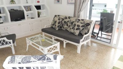 Photo for 1 Bedroom Apartment with  South Facing Patio Free Wi-Fi and English TV Channel