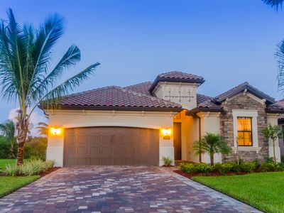 Photo for BED.3BATH POOL HOME IN NAPLES/TREVISO BAY - POOL/SPA Partial Water view.