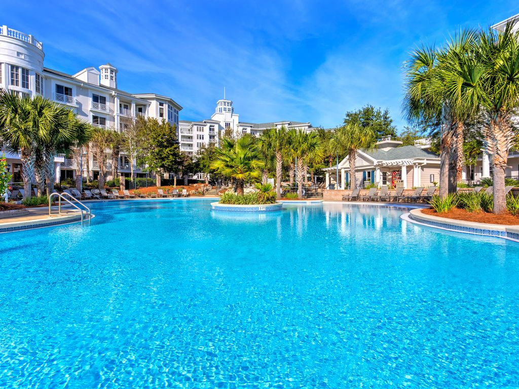 Sandestin elation baytowne wharf tram and wifi included - Florida condo swimming pool rules ...