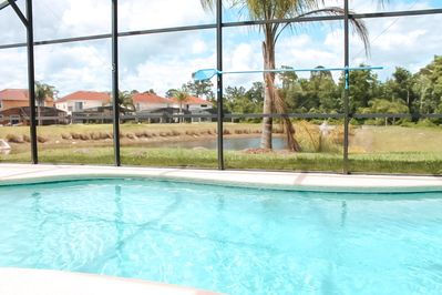 Oversized Pool, Large Lani Area and View of the Pond