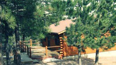 Photo for Swiss Drive Secluded Cabin  5 miles to Lake Pactola! Close to ATV Trails!