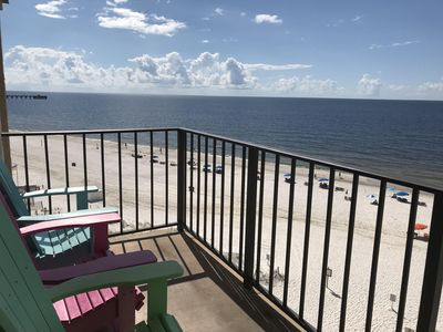 Photo for 3 BR Beachfront on the 6th floor - Great Location!