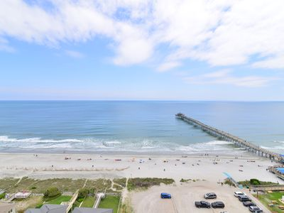 Photo for VACATION PARADISE! BREATHTAKING PANORAMIC OCEAN VIEW! PIER*WIFI*BIG TVs