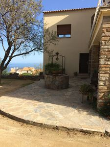 Photo for 2 rooms in quiet property 5 km of Ile Rousse private beaches .Parking
