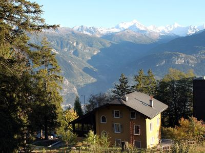 Photo for Large mountain chalet with sauna near the ski lifts of Crans-Montana