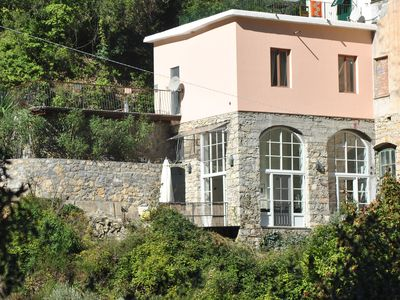 Photo for Charming cottage in mountain village Airole on Flowers Riviera and Cote d'Azur