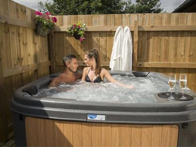 Photo for The Squirrel Lodge Hot Tub-Tenby-Carmarthen