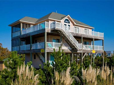 Photo for Conveniently Located-Oceanview Hatteras-Pool, Hot Tub, GameRm, Easy Beach Access