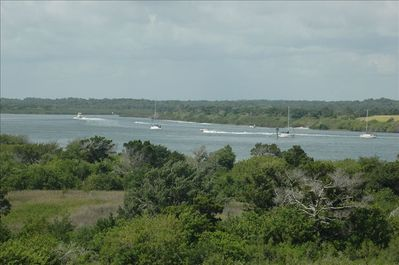 View of Intracoastal Waterway from the balcony